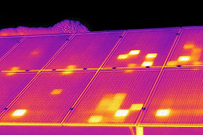 SOLAR PANEL THERMAL INSPECTION