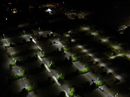 Drone operations at night.