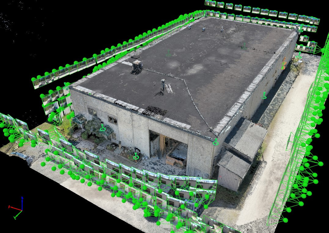 Aerial Visual Insp. - Commercial/Indust.