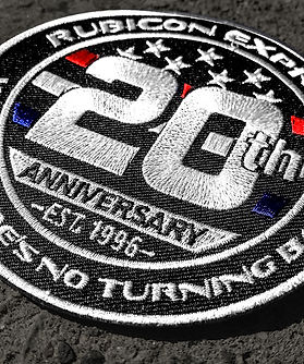 Rubicon Express 20th anniversary event t-shirt