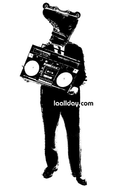 Brandmark logo for L.A. All Day events.