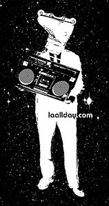 L.A. All Day sticker
