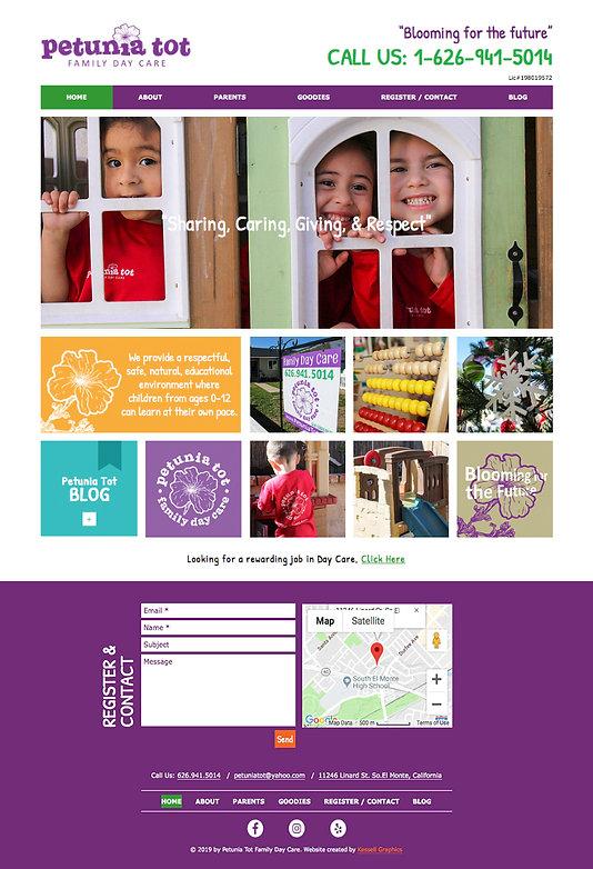 Petunia Tot Website