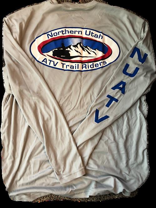 Polyester club logo shirt - long sleeve