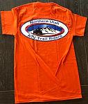 Orange short sleeve - back