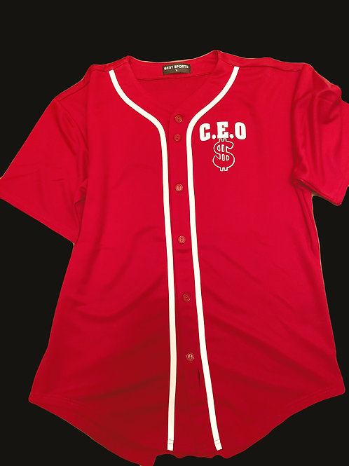 C.E.O baseball jersey w/ money bags