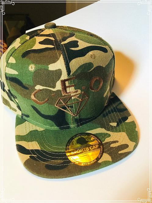 C.E.O sports hat camouflage