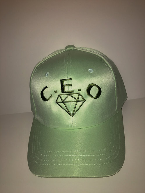 SATIN MINT GREEN CEO DRIP