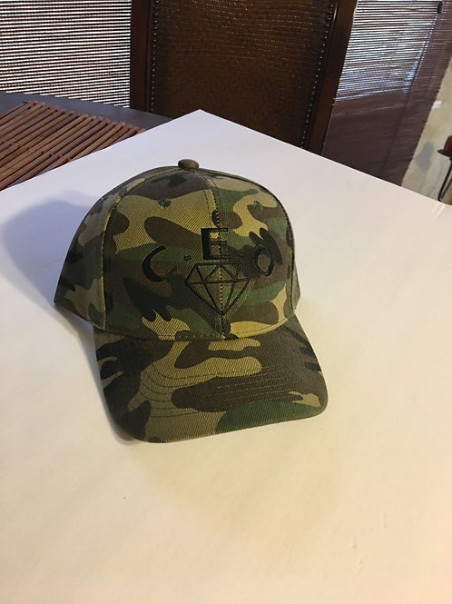C.E.O CAMOUFLAGE DAD/MOM HAT