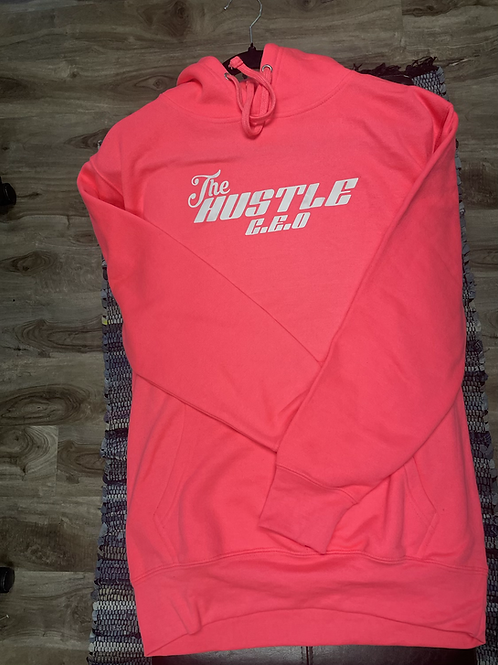 Hot pink THE HUSTLE pullover