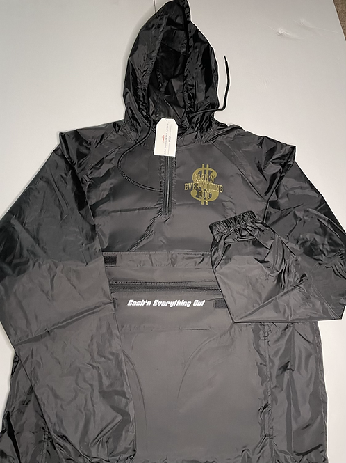 C.E.O 24k gold logo windbreaker