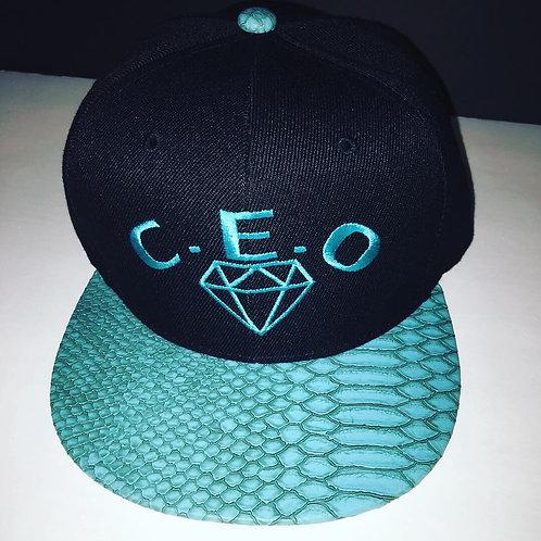 C.E.O snakeskin hat