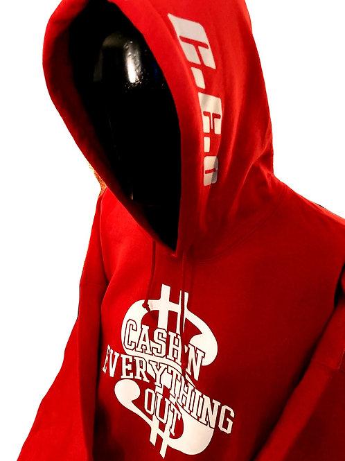 Kobe forever red pullover hoodie