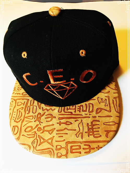 C.E.O tribal leather print