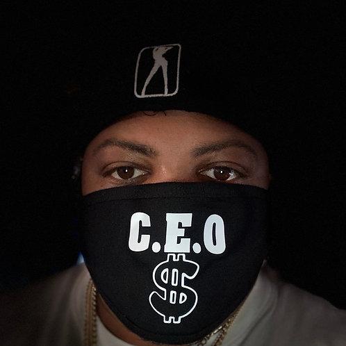 C.E.O dollar sign  protective  face mask