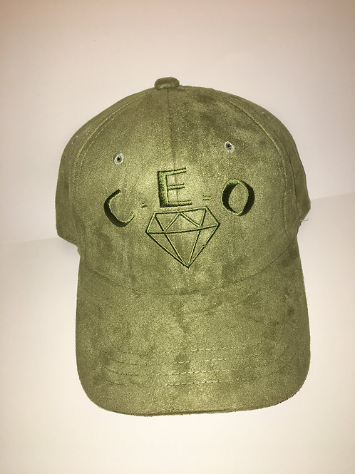 Suede olive green CEO DRIP