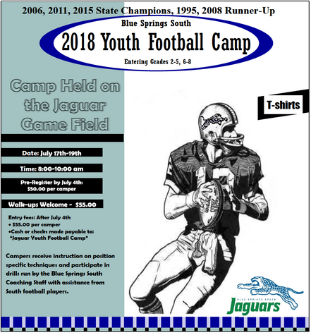BSS Jaguars Youth Football Camp