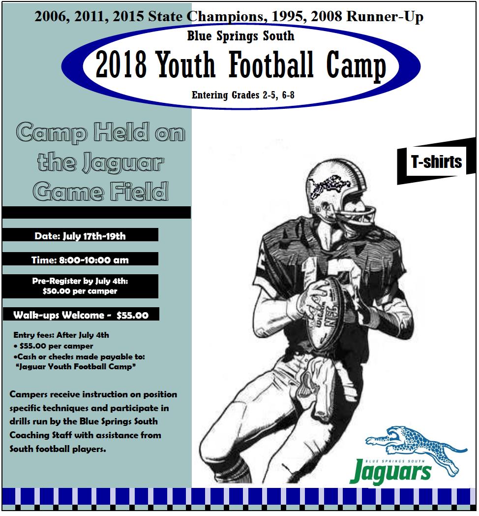 2018 Youth Football Camp
