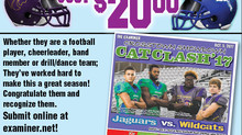 Congratulate Your Favorite Jag in the CatClash Issue of the Examiner.