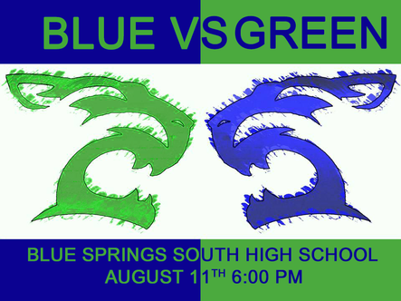 Blue/Green Game & Tailgate Cookout