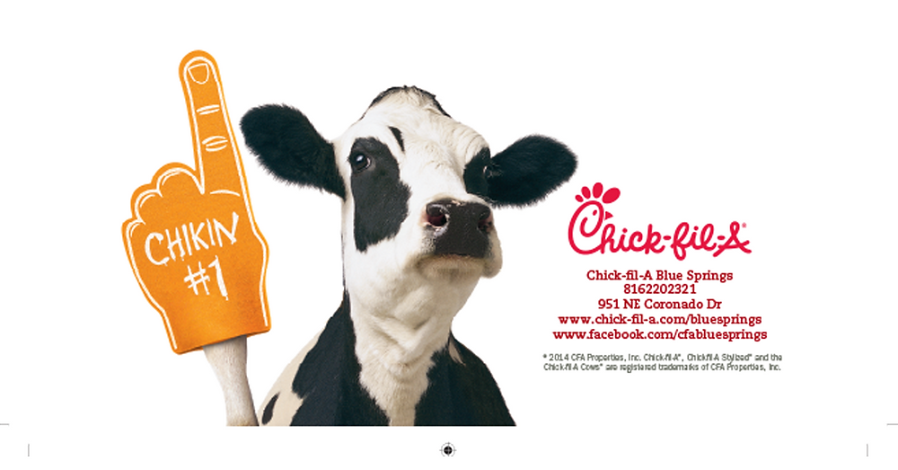 Chick-fil-a fundraiser