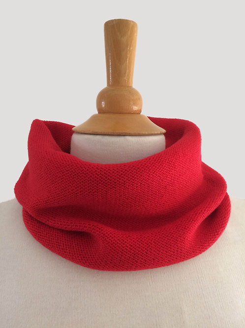 Scarlett Hand Crafted Snood in 100% Merino Wool