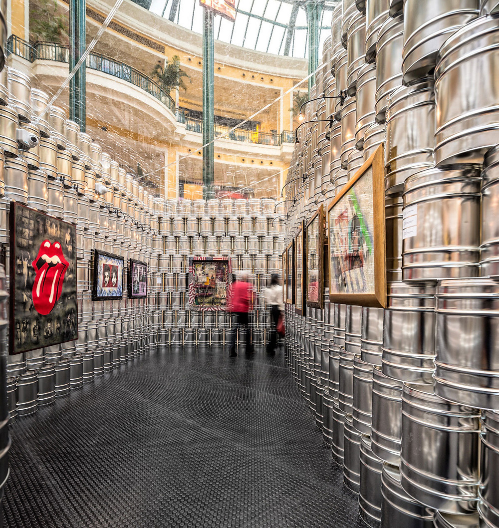 The Temporary Andy Warhol Museum in Lisbon, Portugal by LIKEarchitects