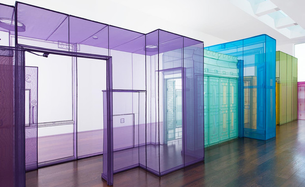 Artist: Do Ho Suh creates the after-glow of time and place with fabric rooms and ritual rubbings