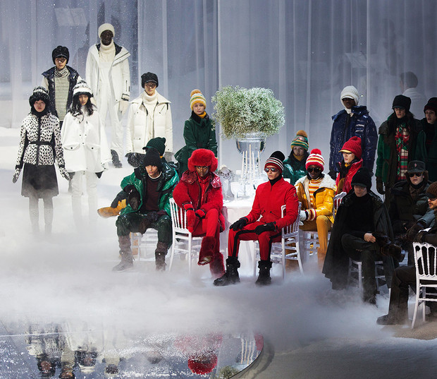 Fashion: Moncler Grenoble hosts a winter ball for its A/W 2017 Show