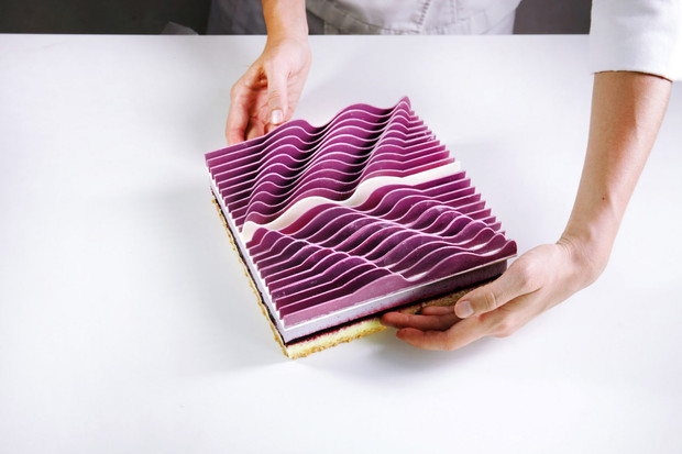 Dessert: Dinara Kasko's sculptural cakes are carved from sheets of chocolate