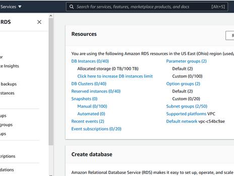 Create Amazon RDS PostgreSQL and Connect using psql and pgadmin