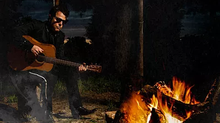 """Nashville's new and upcoming artist, GRW, rocks Manuel piece in album cover for """"Tennessee is Cold"""""""