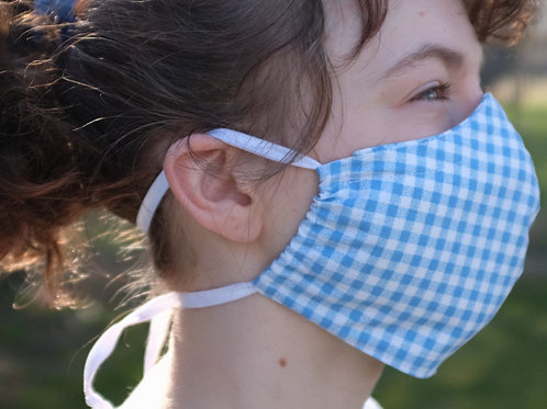 Women's / Teen Reusable Face Mask w/ Filter Pocket