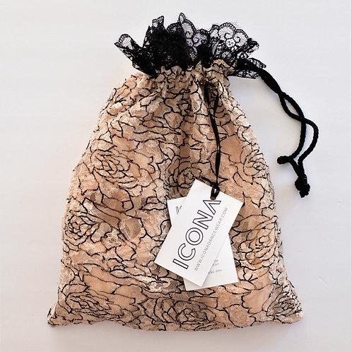 Nude Rose Pointe Shoe Bag