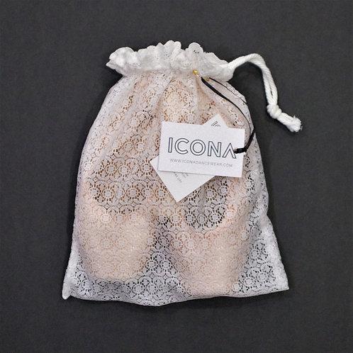 Giselle Lace Pointe Shoe Bag
