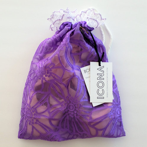 Lilac Pointe Shoe Bag