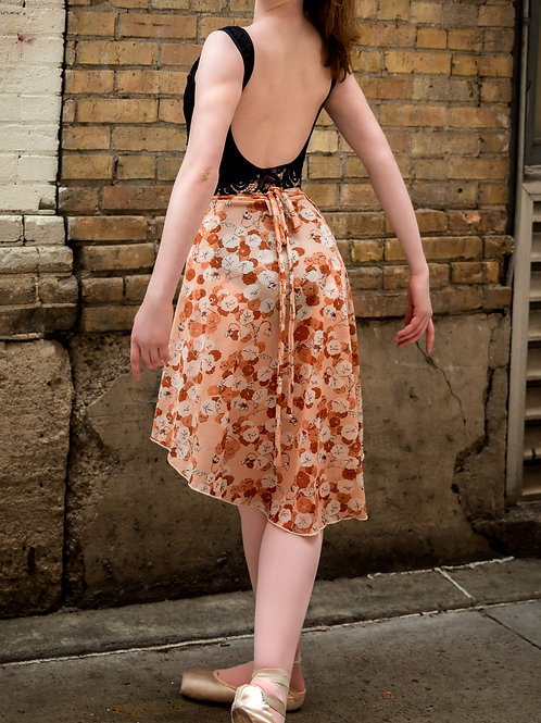 Cherry Blossom Vintage Wrap Skirt
