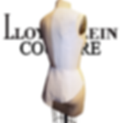 photo of dress form showing the Lloyd Klein Couture process