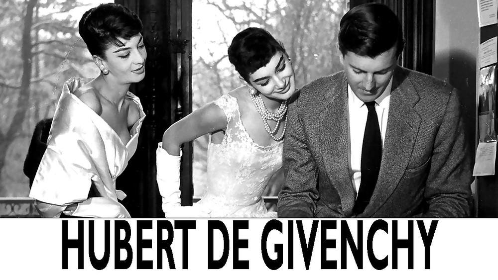 Monsieur Hubert De Givenchy at work