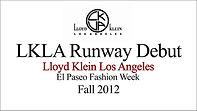 Link to the LKLA Lloyd Klein Los Angeles debut at El Paseo Fashion Week