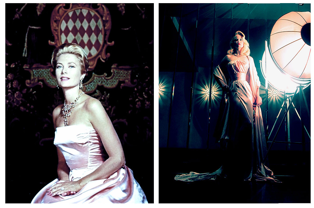 Grace Kelly of Monaco in Pink Satin by Hubert De Givenchy