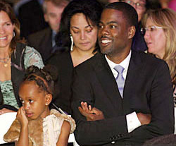 Chris Rock and daughter
