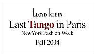 Lloyd Klein Runway Fall Winter 2004/2004 - Last Tango in Paris theme