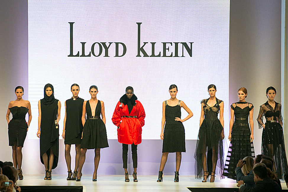 The key looks from the Lloyd Klein Holiday Collection for 2015/2016