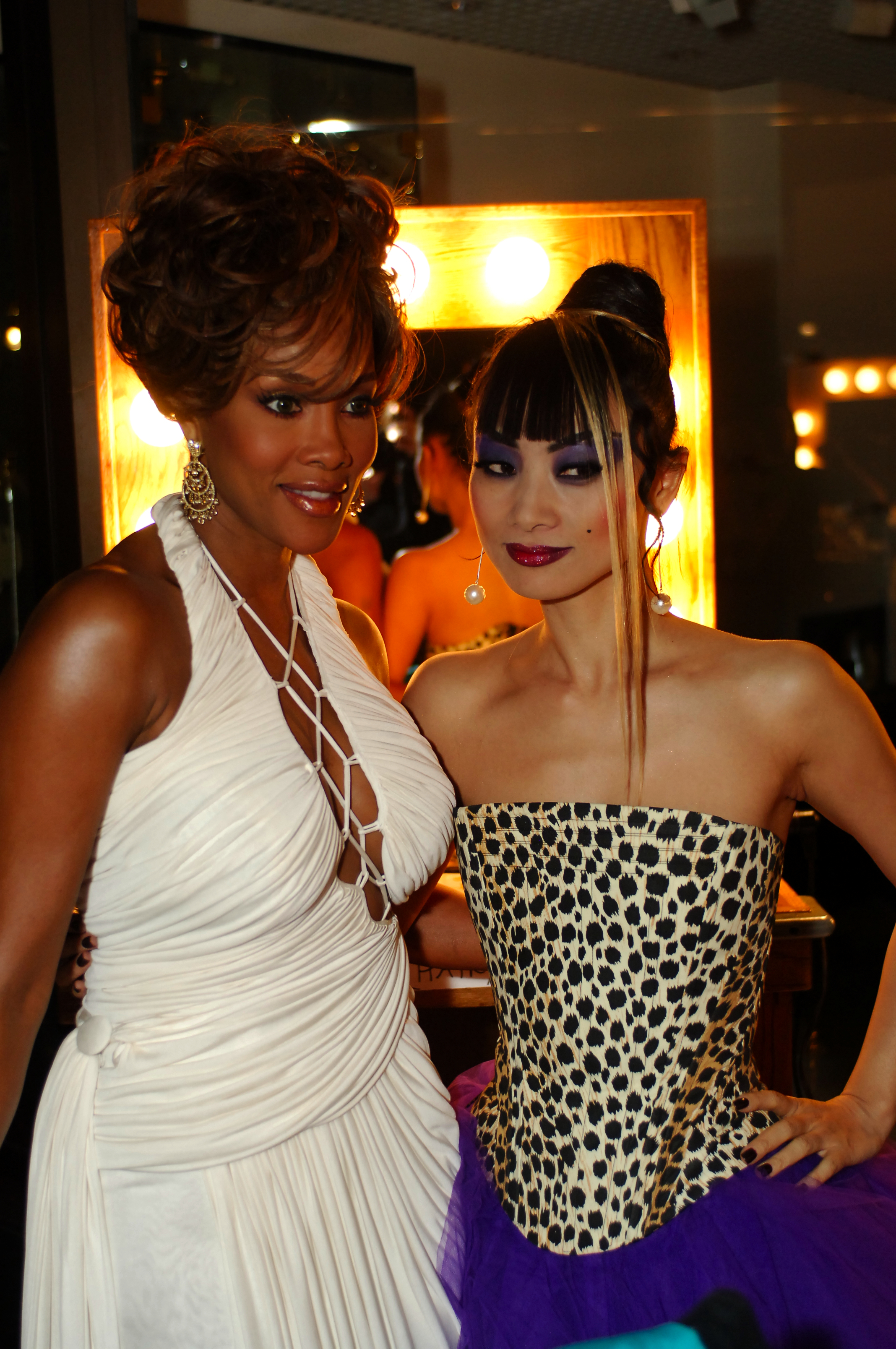 Vica Fox and Bai Ling