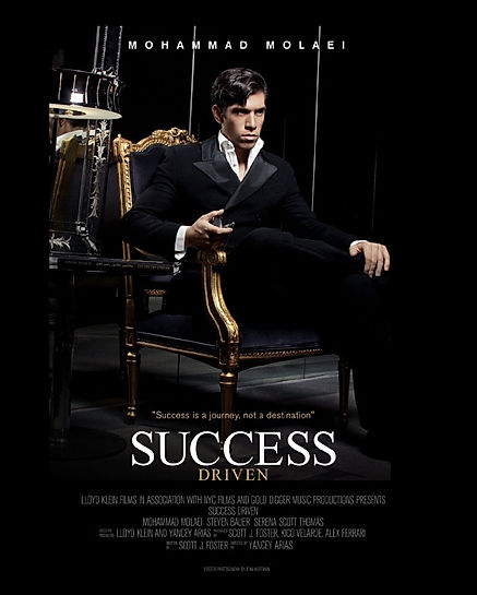Movie Poster from Success Driven - a multiple award winning film about  the secret to success - from LK Films
