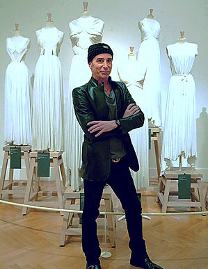 Image of Lloyd Klein commemorating his visit to the Madame Gres Exhibit in Paris