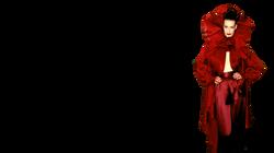 Lloyd Klein Crimson Satin