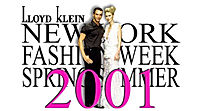 Lloyd Klein Runway Spring Summer 2001 - Think Pink Theme