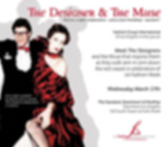 Covert art by John Arguelles for The Designer and the Muse  benefit for Fashion Group International of Los Angeles